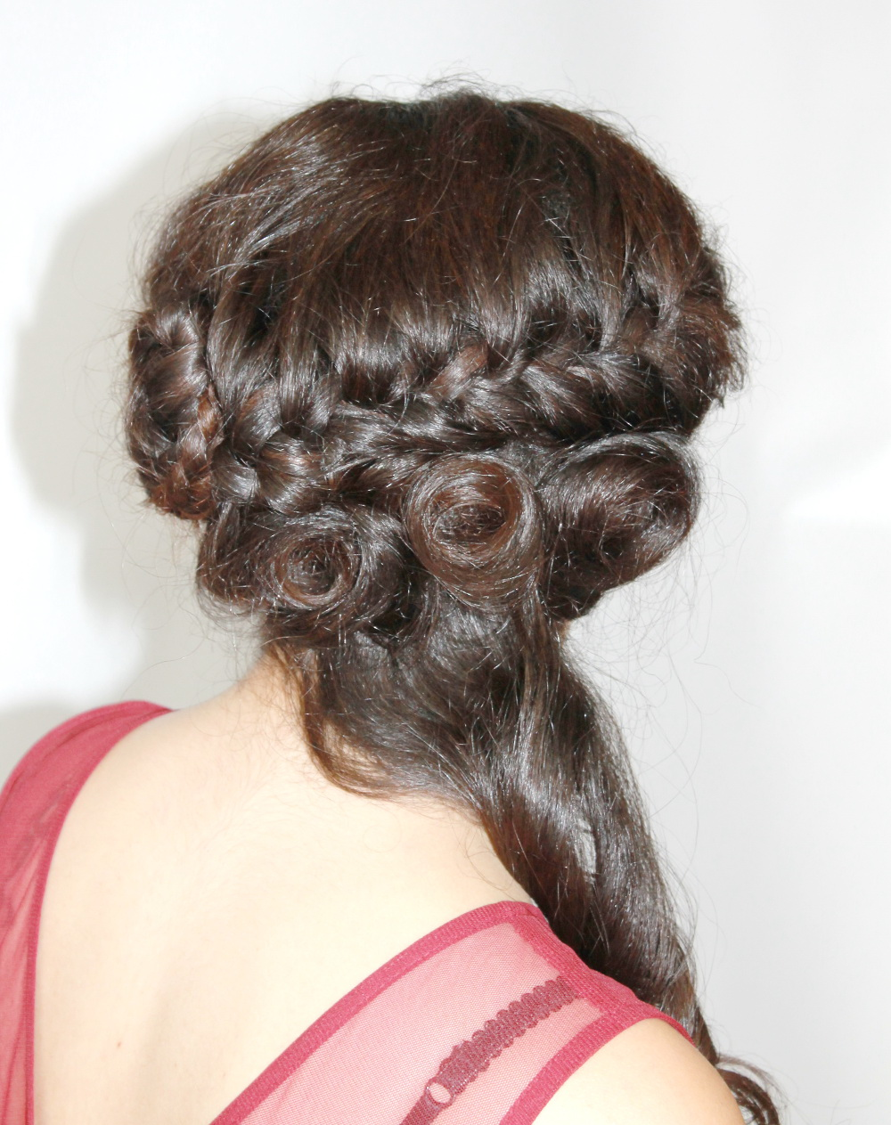 Fashion hair styling
