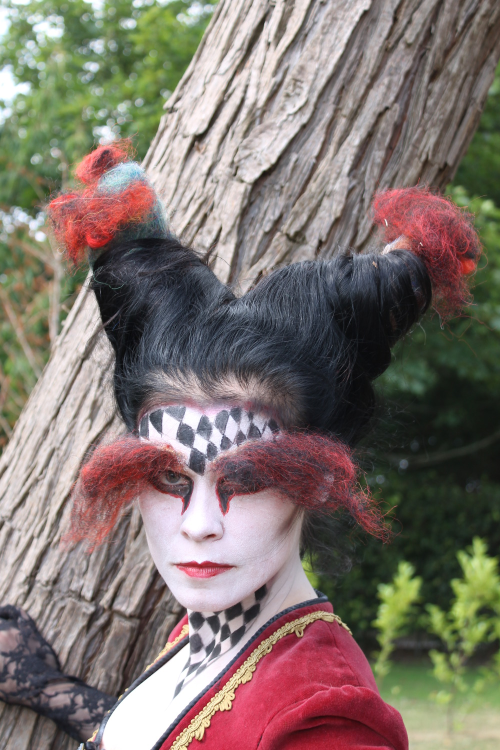 character makeup Witch of Darkness (3)
