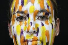 media makeup course - Brush strokes