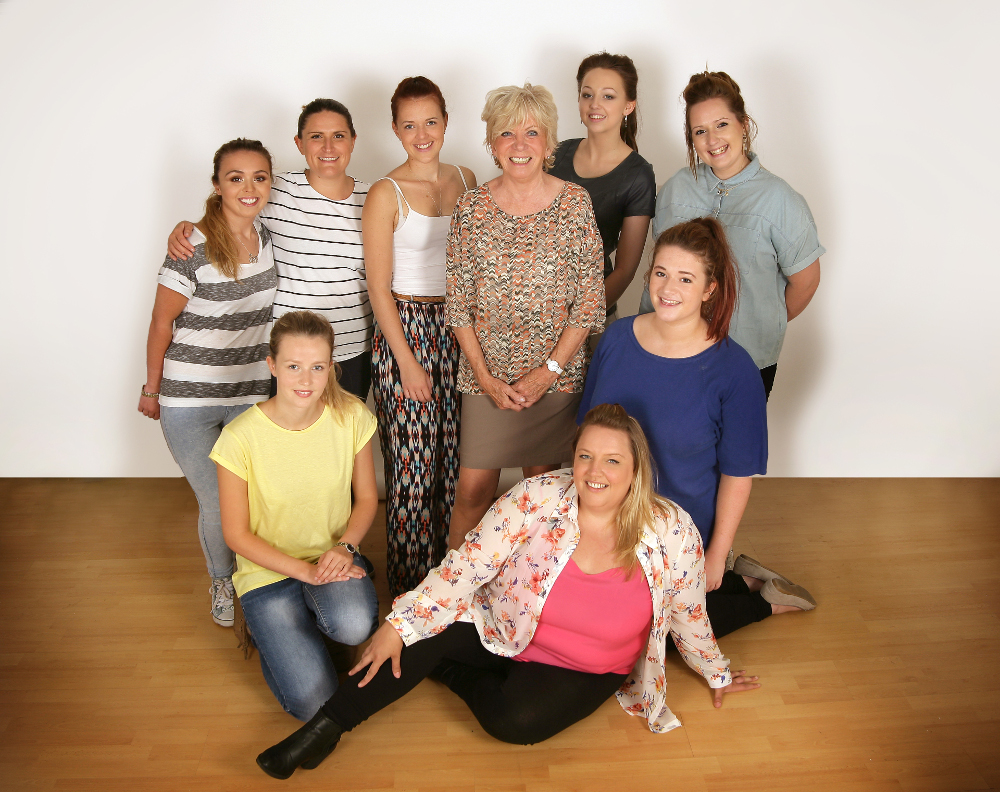 centre stage complete media makeup and hair course class 2014