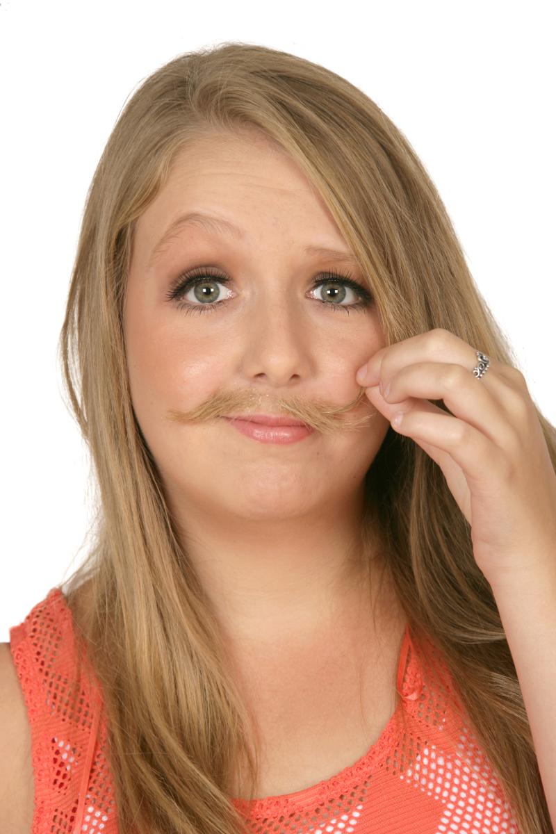 Character Makeup Moustache