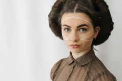media makeup and hair course assessment 2016 - editorial makeup by Maya Rose