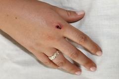 media makeup course assessment 2016 - makeup sfx cuts and blood