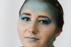 media makeup and hair course assessment 2016 - editorial makeup by Rhi Arundale