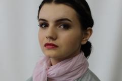 media makeup course assessment 2016 - tv makeup look 5