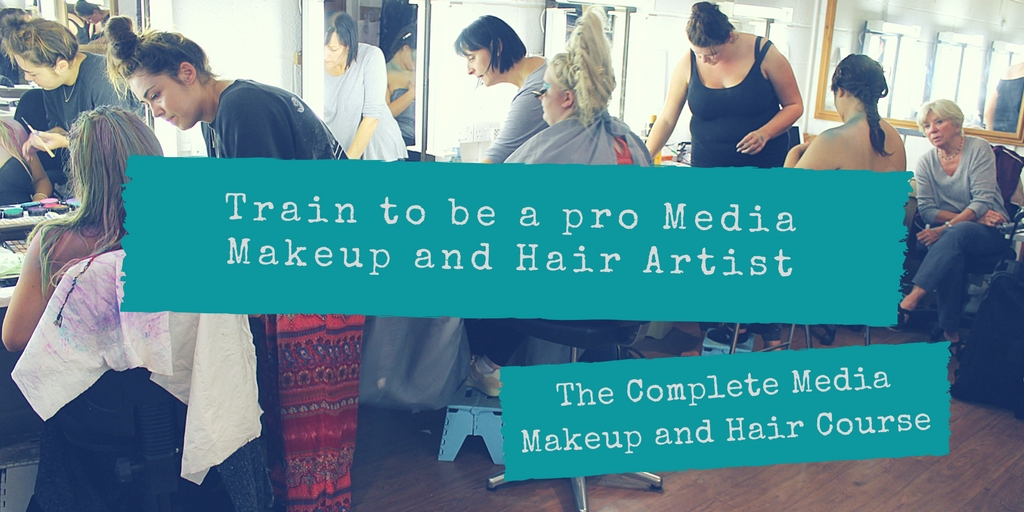 Train to be a pro Media Makeup and Hair Artist on The Complete Media Makeup and Hair Course at Centre Stage Makeup Studio, East Sussex