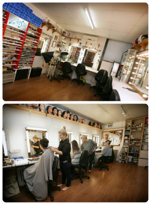 Makeup studios at Centre Stage Studios, East Sussex