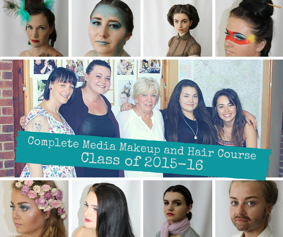 Class of 2015/16 makeup and hair by: