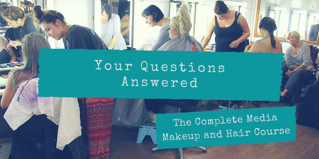 Your questions answered, The Complete Media Makeup and Hair Course