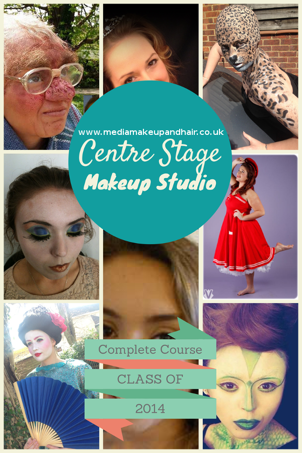 Media Hair and Makeup Course Class 2014