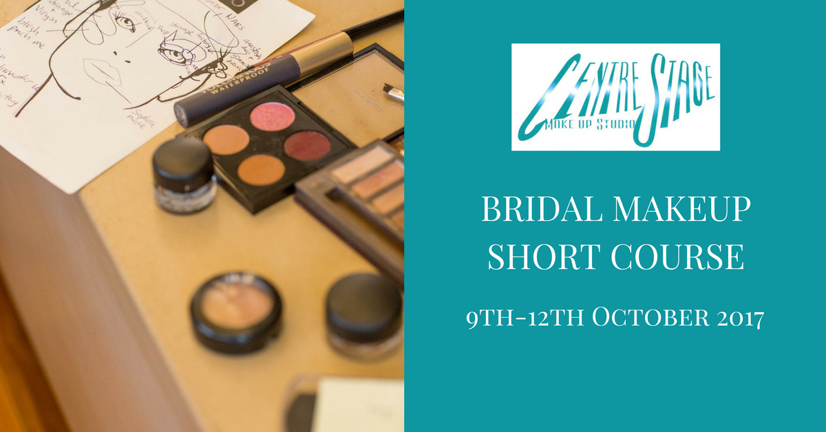 Bridal Makeup Course Centre Stage Makeup Studio East Sussex October 2017