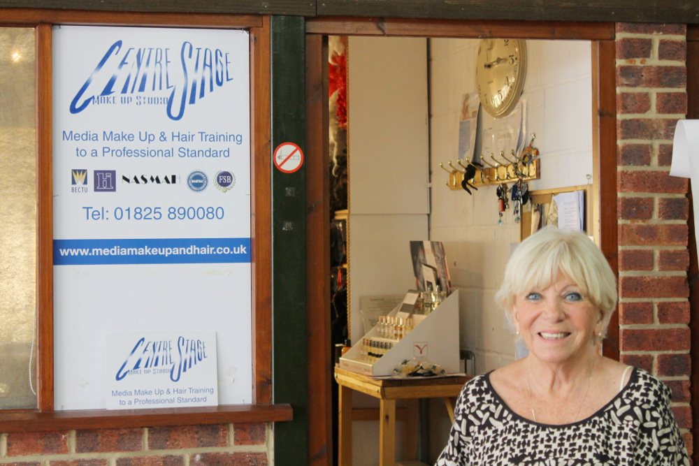 Judy Neame Makeup Artist Centre Stage Makeup Studio East Sussex
